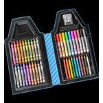 Color Wonder CRAYOLA TIP ART CASE - BLUE