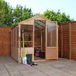 Mercia 8ft x 6ft Traditional Greenhouse.