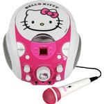 Hello Kitty Portable CDG Karaoke Machine.