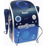 Mr Entertainer CDG Bluetooth Karaoke Machine - Blue.