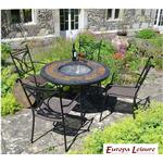 Argos Durango Patio Table with 4 Treviso Chairs.