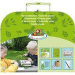 Esschert Design Entdeckerset Pflanzenkunde für Kinder, Set bestehen aus: Pflanzenpresse, Pflanzenlupe usw.