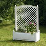 KHW Large Planter Box with Trellis 100cm