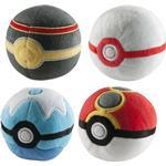 Mjukisar Nintendo - Pokeball / Pokebollar 6st (7cm)