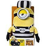 "Despicable Me 9077B ""DM3 Jail Minion Mel"" Soft Toy (Medium)"