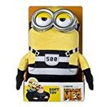"Despicable Me 9075B ""DM3 Jail Minion Tom"" Soft Toy (Medium)"