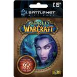 Blizzard 60 Days Online Play Time Card
