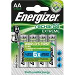 Energizer Extreme 2300mAh AA Rechargeable Batteries - 4 Pack