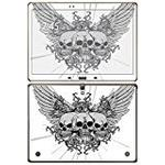 Royal Sticker 'Royal RS. 101495 Sticker for Samsung Galaxy Tab S 10.5 Wifi Sticker Three Skulls with Wings