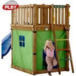 Nordic Play Telt til legetårn Club, grøn/blå - Nordic Play tilbehør 805534