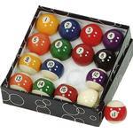 Biljardbollar Biljardbollar Gamesson Pool Ball Set 47mm 16-pack