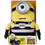 "Despicable Me 9076B ""DM3 Jail Minion Carl"" Soft Toy (Medium)"