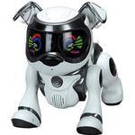 Cobi Teksta robotic puppy controlled voice - black