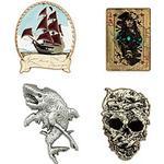 "Disney Store Pirates of the Caribbean: Salazar""'s Revenge Limited Edition-pins, set om 4"