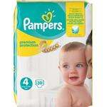 Procter & Gamble Pampers Premium Protection S4 8-16 kg 39 st