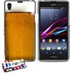 "Muzzano Extra-Slim ""Beer"" Flexible Case for Sony Xperia Z1 - Grey"