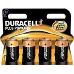 Duracell Plus Power D (4 pcs)