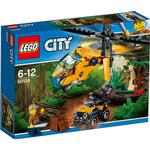 Lego City Jungle Cargo Helicopter 60158