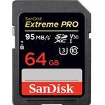 SanDisk Extreme Pro SDXC V30 UHS-I U3 64GB