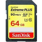 SanDisk Extreme Plus SDXC V30 UHS-I U3 90MB/s 64GB