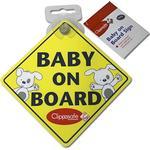Clippasafe Baby On Board Skylt