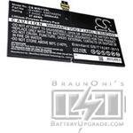 Microsoft Surface Pro 4 batteri (5050 mAh, Svart)