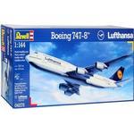 Revell 1/144 Boeing 747-8 Lufthansa Plastic Model Kit 04275