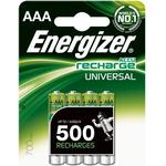 ENERGIZER Batteri AAA/LR03 Laddbart Ni-Mh 700mAh 4-pack