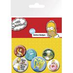 Pin Badge Pack - The Simpsons Homer - Merchandise