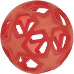 Hevea baby Hevea Stjärnboll i Naturgummi (Röd)