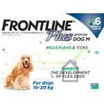 Frontline Plus for Medium Dogs 10-20kg 6 pack