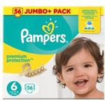 Procter & Gamble Pampers Premium Protection S6 15+ kg 56 st