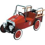 Great Gizmos Fire Engine Classic Pedal Car 8304