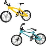 Alloy Creative Simulation Mini Alloy Bicycle Finger Forklift Toy Multi-color Kids Gift Sports