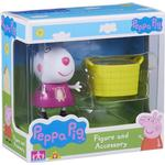 Character Peppa Pig Figure & Accessory Pack Suzie Sheep & Basket
