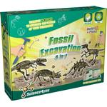 Science4you Fossil Excavation 4 in 1 Kit