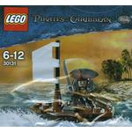 Lego Pirates of the Caribbean Jack Sparrow med Båt 30131