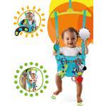 Bright Starts Deluxe Hoppgunga Bounce'n Spring turkos K10410