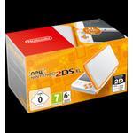 Nintendo DS New NINTENDO 2DS XL, vit/orange