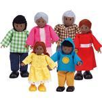 HapeToys Lycklig Familj African American
