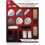 XQ Max - 2 sæt dartpile med tilbehør (stål)
