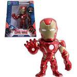 """Jada Metal Die Cast 4"""" Iron Man Figure M46"""