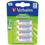 Verbatim AA Premium Rechargeable 4-pack