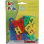 Simba Art & Fun Magnetic Capital Letters