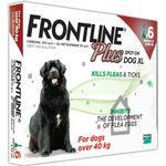 Frontline Plus Flea & Tick Spot On Dog 40kg+ Extra Large Dog x 3 NFA-D