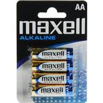 Maxell AA Alkaline Blister 4-pack