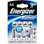ENERGIZER ULTIMATE LITHIUM BATTERIER AA L91 4PK