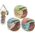 3 Gruffalo Printed Play Balls 3pc Set In Pvc Tube