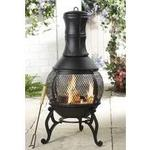 Studio Cast Iron Chiminea/Fire Pit