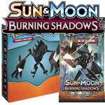 Pokemon burning shadows collector's album (mini-pärm + 1 pack)